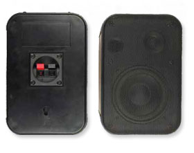 Public Address Speaker Moulded Cabinet Speakers EES-001H