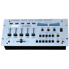 Music mixer DJ-393  FEATURES
